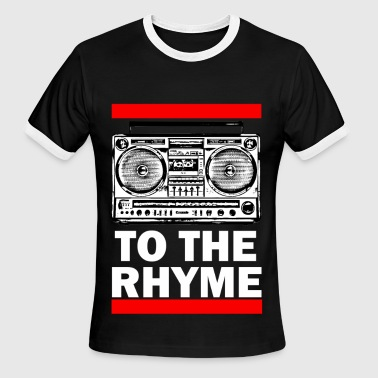 TO THE RHYME 1a - Men's Ringer T-Shirt