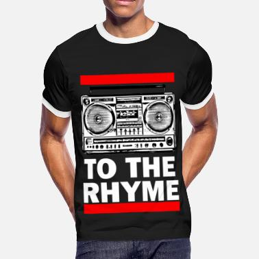Rhymes TO THE RHYME 1a - Men's Ringer T-Shirt