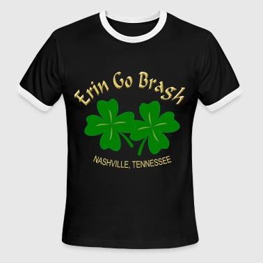 Nashville Ireland Forever - Men's Ringer T-Shirt