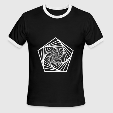 geometry-Polygon - Men's Ringer T-Shirt