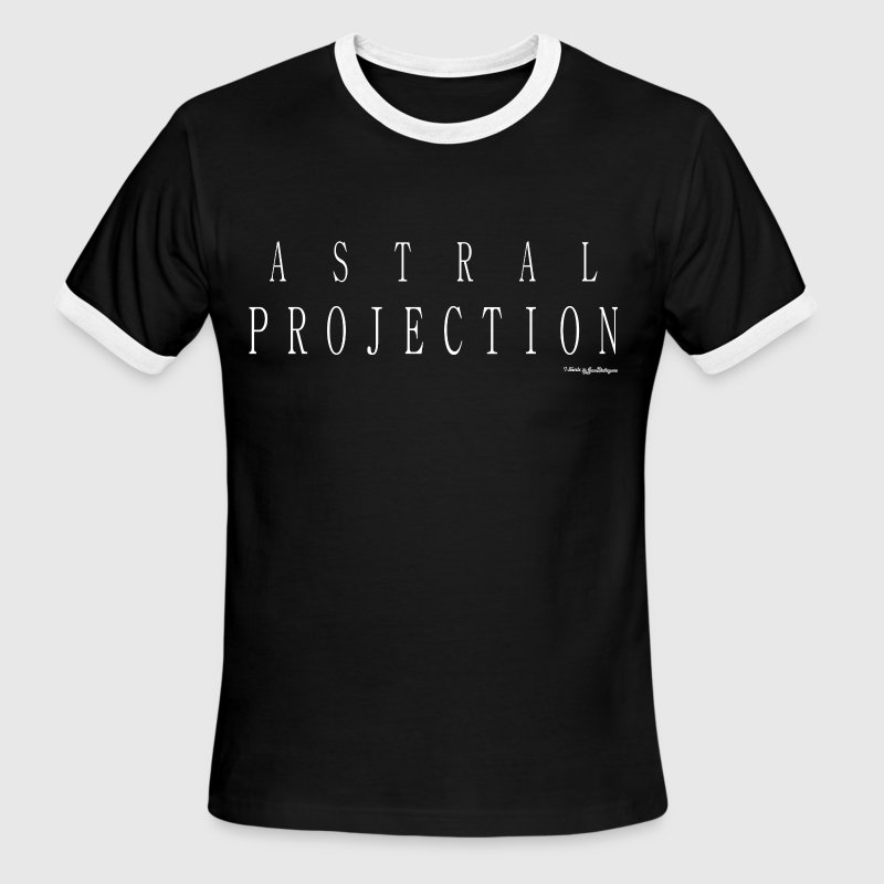 Astral Projection T Shirts - White - Men's Ringer T-Shirt