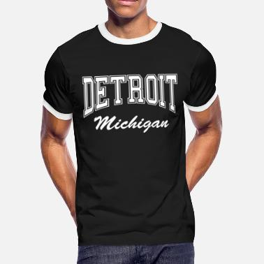 Detroit Michigan Detroit Michigan - Men's Ringer T-Shirt