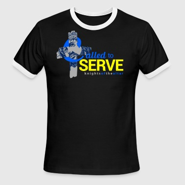 Called To Serve Called to Serve: Knights of the altar - Men's Ringer T-Shirt