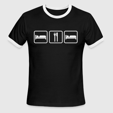 Sleep Eat Sleep - Men's Ringer T-Shirt