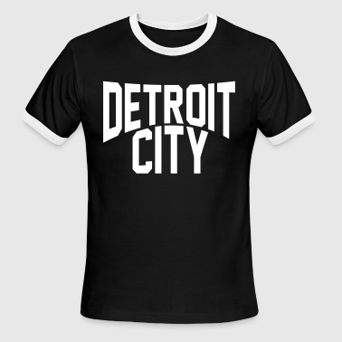Detroit City DETROIT CITY - Men's Ringer T-Shirt