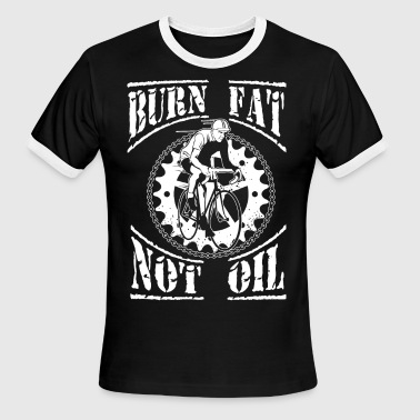 Burn fat - Men's Ringer T-Shirt