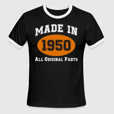 Allgäu made in 1950 all original parts Shirt - Men's Ringer T-Shirt