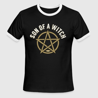 Son Of A Witch Son of a witch - Men's Ringer T-Shirt
