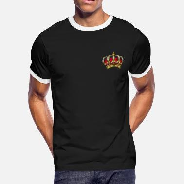 Crown Symbol Crown - Men's Ringer T-Shirt