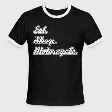 Motorcycle Slogan Motorcycle Motorcyclist - Men's Ringer T-Shirt