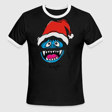 Snowman Bumble the Abominable - Men's Ringer T-Shirt