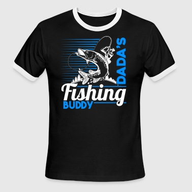 Dada's Fishing Buddy Shirt - Men's Ringer T-Shirt