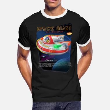 Space Giants Space Giant Tin Toy - Men's Ringer T-Shirt
