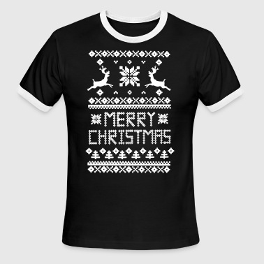 Merry Christmas - Men's Ringer T-Shirt