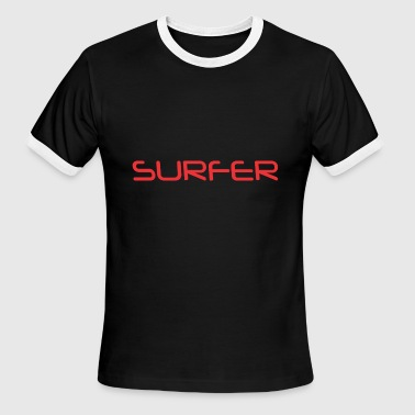 Surfer - Men's Ringer T-Shirt