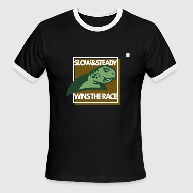 Slow and steady wins the race - Men's Ringer T-Shirt