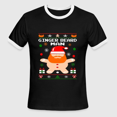 Cool Ginger Beard Man - Men's Ringer T-Shirt
