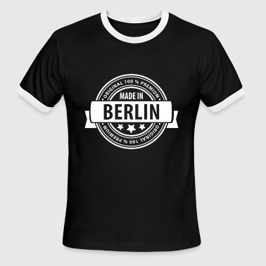 Made in BERLIN - Men's Ringer T-Shirt