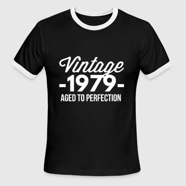 Vintage 1979 aged to perfection - Men's Ringer T-Shirt