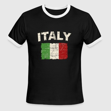 Italy Flag - Men's Ringer T-Shirt