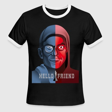 Hello friend - Men's Ringer T-Shirt