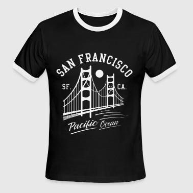 San Francisco Golden Gate - Men's Ringer T-Shirt