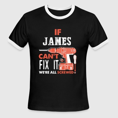 James fix it - Men's Ringer T-Shirt