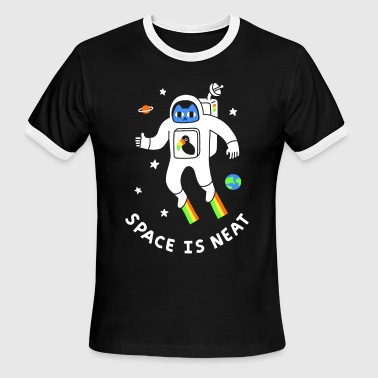 Neat Space Is Neat - Men's Ringer T-Shirt