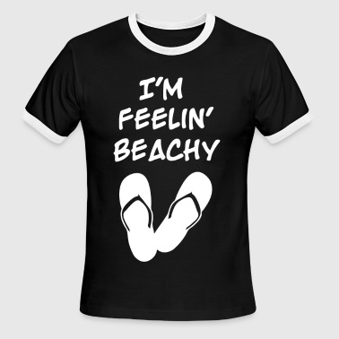Feelin' Beachy - Feelin' Beachy - Men's Ringer T-Shirt