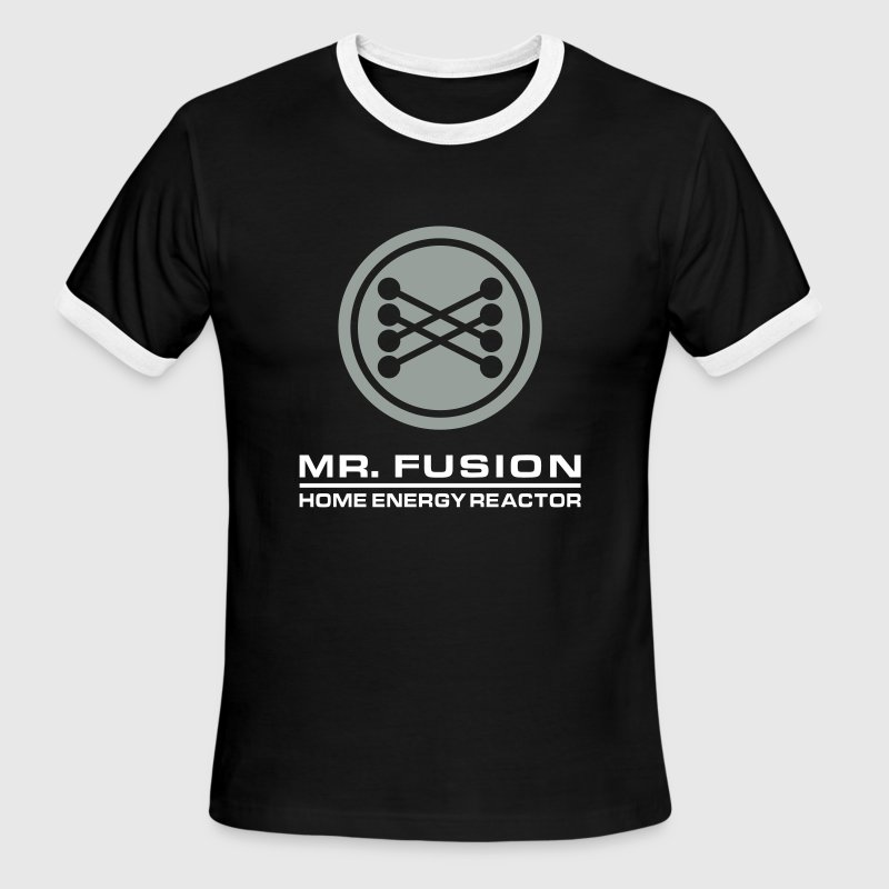 Back to the Future: Mr. Fusion - Men's Ringer T-Shirt