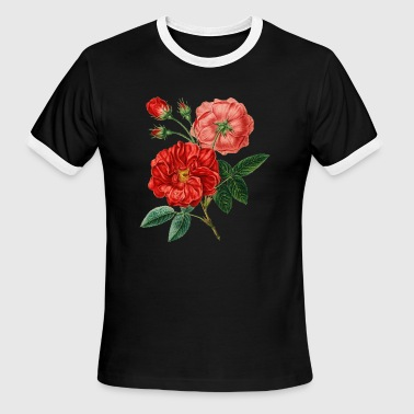 Red Rose Perfect Gift Idea - Men's Ringer T-Shirt