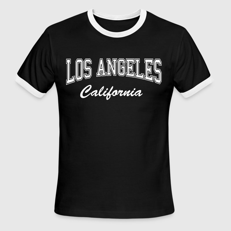 Los Angeles California - Men's Ringer T-Shirt