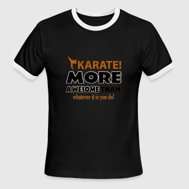 KARATE DESIGN - Men's Ringer T-Shirt