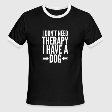 Therapy Dogs Dog therapy - Men's Ringer T-Shirt