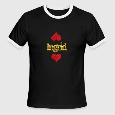 Ingrid - Men's Ringer T-Shirt