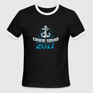 Cruise Squad Shirts Funny Family Cruise 2017 Tee S - Men's Ringer T-Shirt