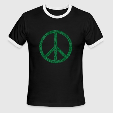 Cannabis Peace Cannabis peace - Men's Ringer T-Shirt