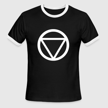 Circle Triangle - Men's Ringer T-Shirt