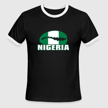 Minna Nigeria caracol on color - Men's Ringer T-Shirt