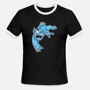 Sea Monster sea monster - Men's Ringer T-Shirt