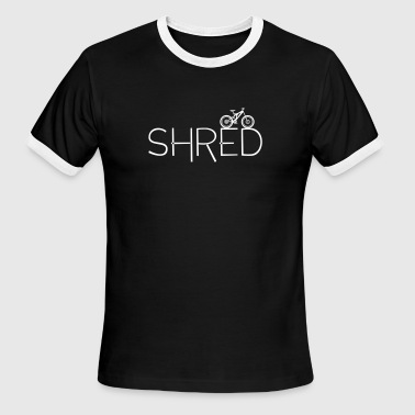 Shred - Men's Ringer T-Shirt