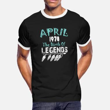 1978 April April 1978 The Birth Of Legends - Men's Ringer T-Shirt