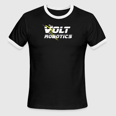 VOLT Robotics White Logo - Men's Ringer T-Shirt