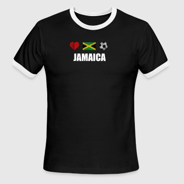 Jamaica Football Jamaica Football Shirt - Jamaica Soccer Jersey - Men's Ringer T-Shirt