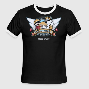Video Game Cyber System - Men's Ringer T-Shirt