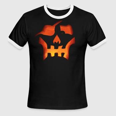 Pirate Pumpkin Carving - Men's Ringer T-Shirt
