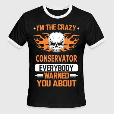 For Conservative CONSERVATOR - Men's Ringer T-Shirt