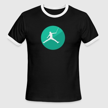 Jordan Jumpman Air Vader Spoof - Men's Ringer T-Shirt