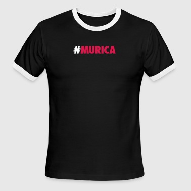 Murica - Men's Ringer T-Shirt