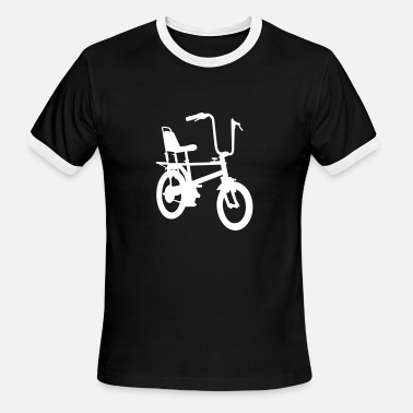 Raleigh Chopper Chopper - Men's Ringer T-Shirt